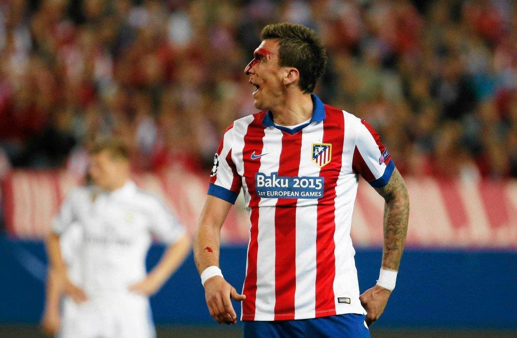 Atletico - Real. Mario Mandżukić