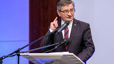 Były marszałek Sejmu Marek Kuchciński