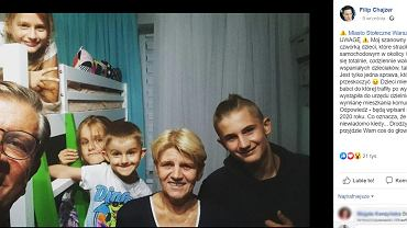 Zygmunt Chajzer opiekuje się osieroconymi dziećmi