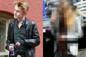 Macaulay Culkin w 2012 i 2016 r.