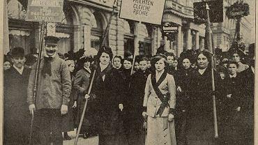Manifestacja kobiet w Wiedniu