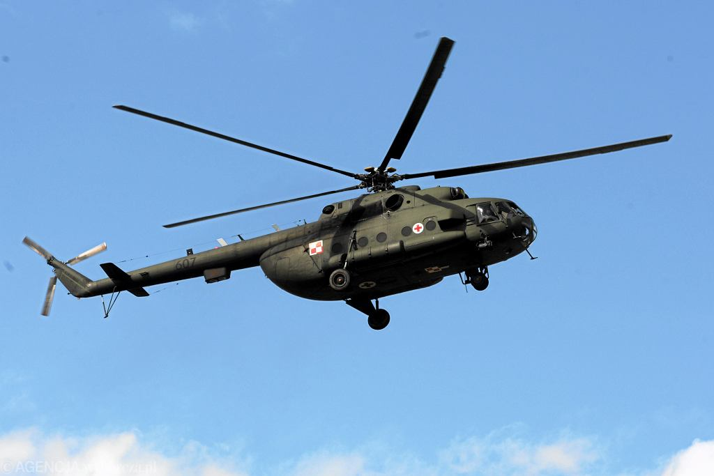 Śmigłowiec Mi-17 (zdjęcie ilustracyjne)
