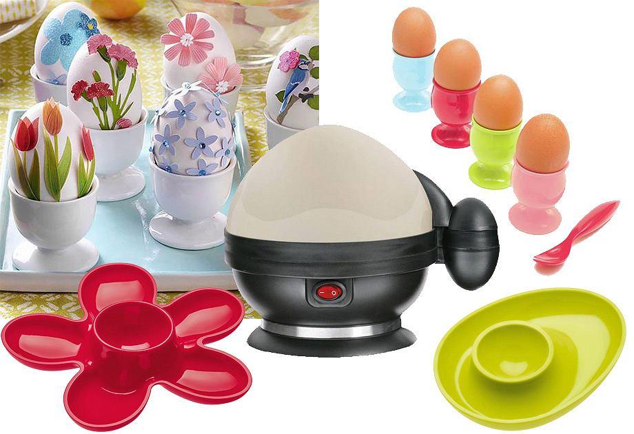 Jajowar i kieliszki do jajek
