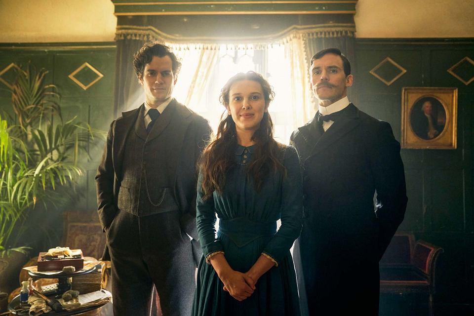"""Enola Holmes"""": Sherlock toumięśniony przystojniak, któregoprzechytrza  genialna 16-latka"""