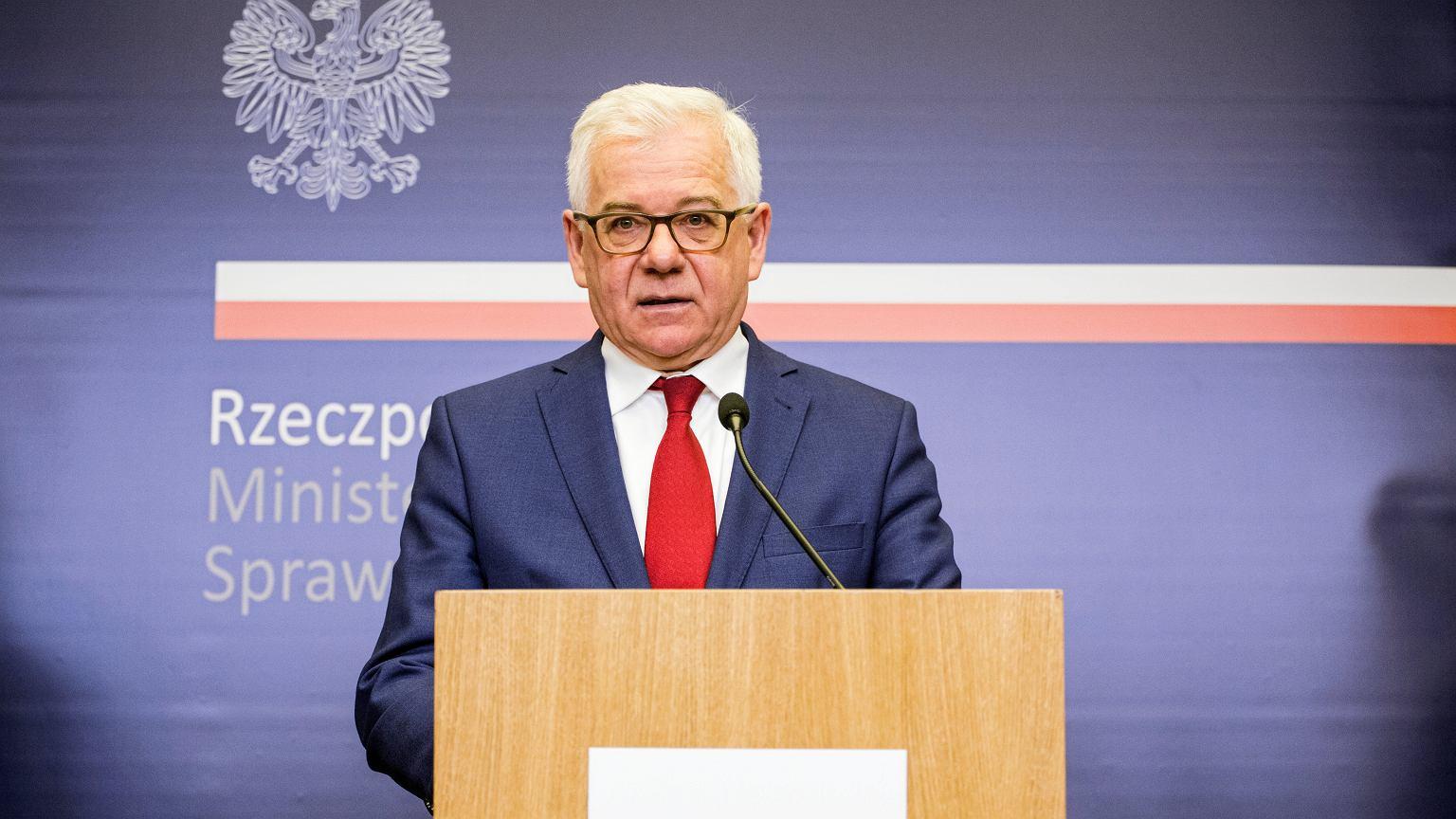 Irak. Jacek Czaputowicz: Polska ambasadorka ewakuowana z Bagdadu. Zadecydowali o tym Brytyjczycy | Polityka - Wiadomości Gazeta.pl