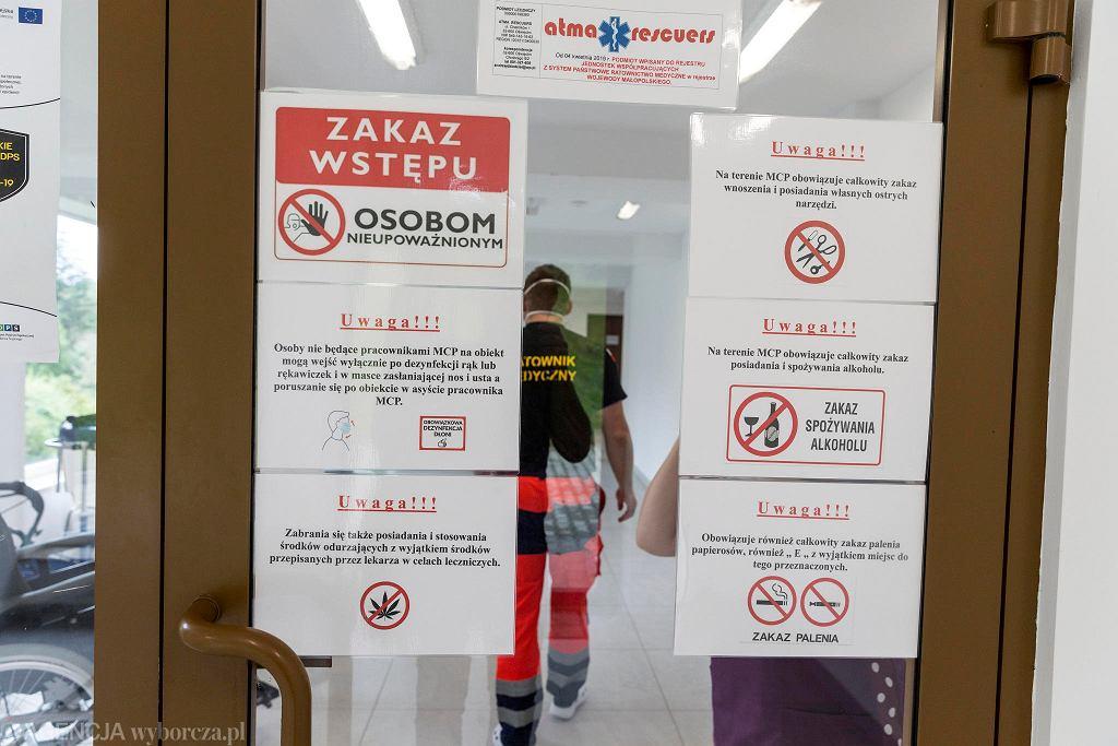 Porąbka, w ośrodku Kozubnik dochodzą do zdrowia zakażeni koronawirusem pensjonariusze Domów Pomocy Społecznej