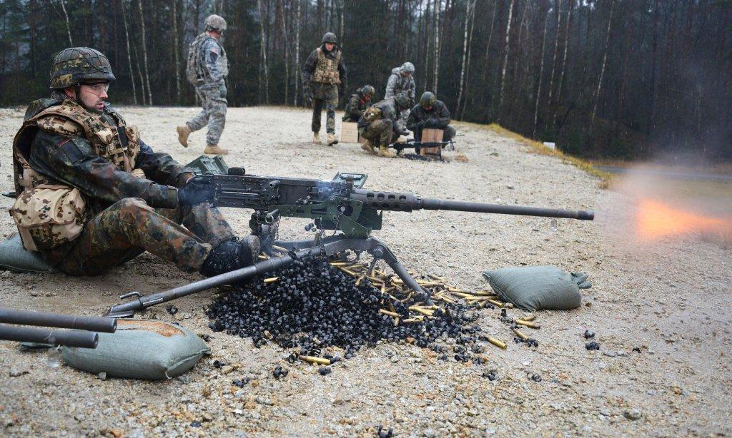 Ćwiczenia niemieckiej armii