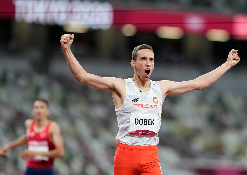 Branżowy magazyn przewiduje srebro dla Patryka Dobka w finale biegu na 800 metrów