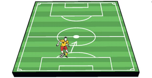Sport: zostań futbolowym ekspertem,sport, piłka nożna, Fałszywa dziewiątka