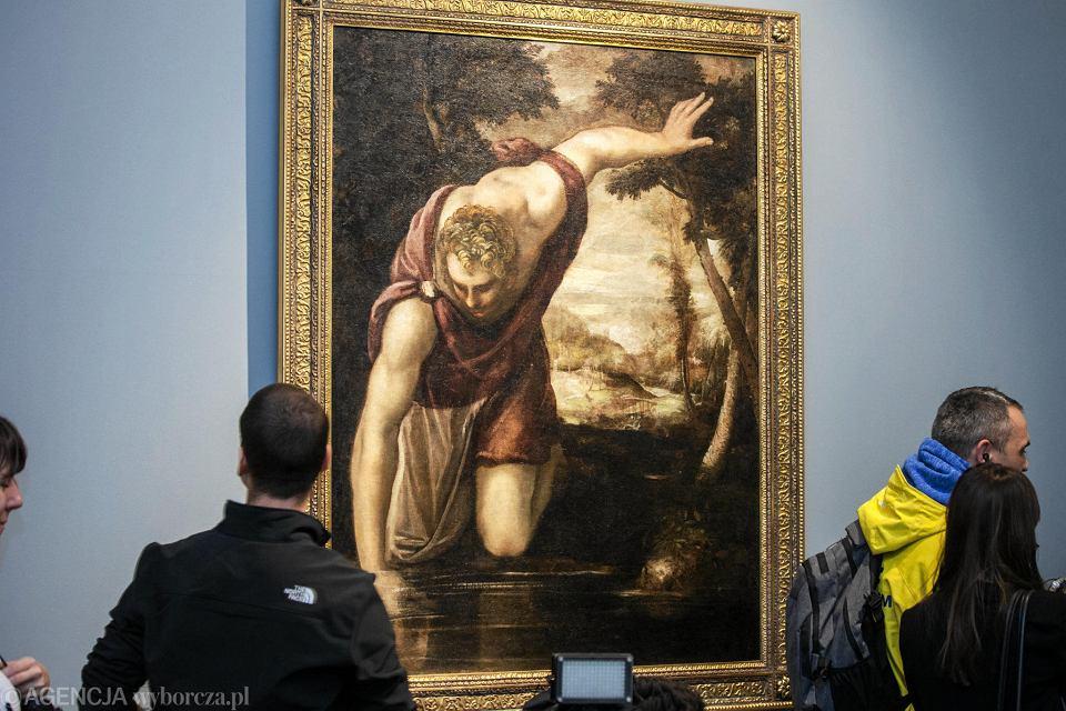 Tak 'Narcyz' Tintoretta prezentuje się w Muzeum Narodowym