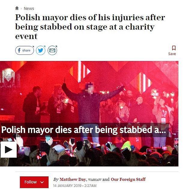 Paweł Adamowicz nie żyje. Zagraniczne media piszą o śmierci prezydenta Gdańska