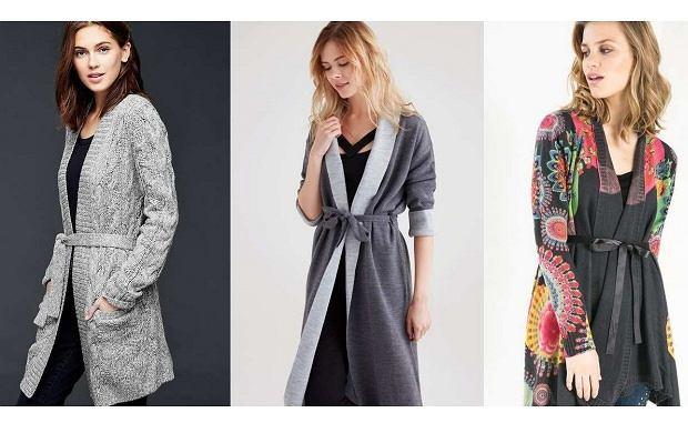 Długie swetry na jesień C&A, Desigual, OXXO