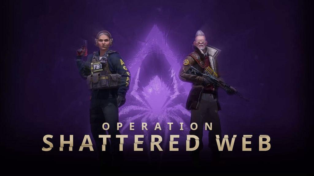 Counter Strike: GO Shattered Web