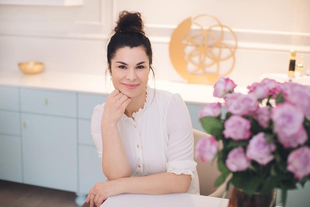 Aneta Hregorowicz-Gorlo w swojej Akademii Facemodelingu