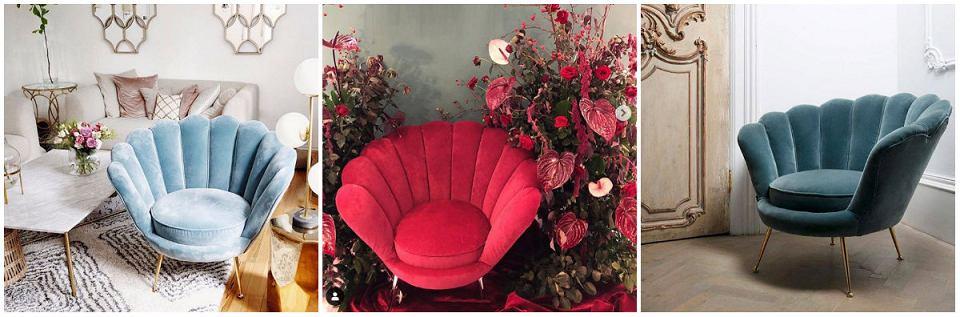 Fotel muszla bije rekordy popularności na Instagramie.