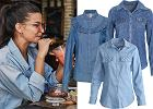 koszula jeansowa/mat. partnerawww.instagram.com/juliawieniawa