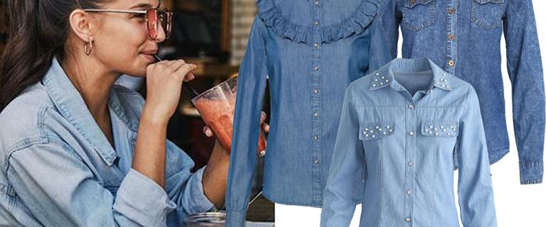 Koszule jeansowe z wyprzedaży. Pasują do wszystkiego! Wybrałyśmy modele, które sprawdzą się w każdej garderobie