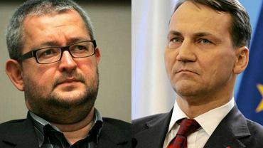 Rafał Ziemkiewicz i Radosław Sikorski
