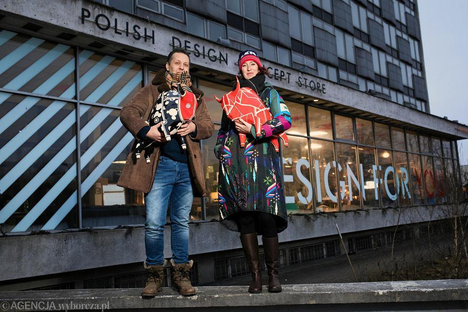 Grzegorz Kuba Kmieciak i Dina de Białynia-Woycikiewicz