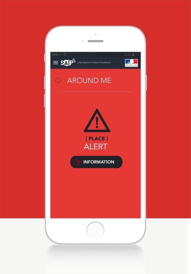 SAIP - alert o zagrożeniu