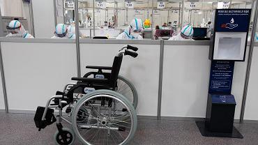 Tymczasowy szpital covidowy (zdjęcie ilustracyjne)