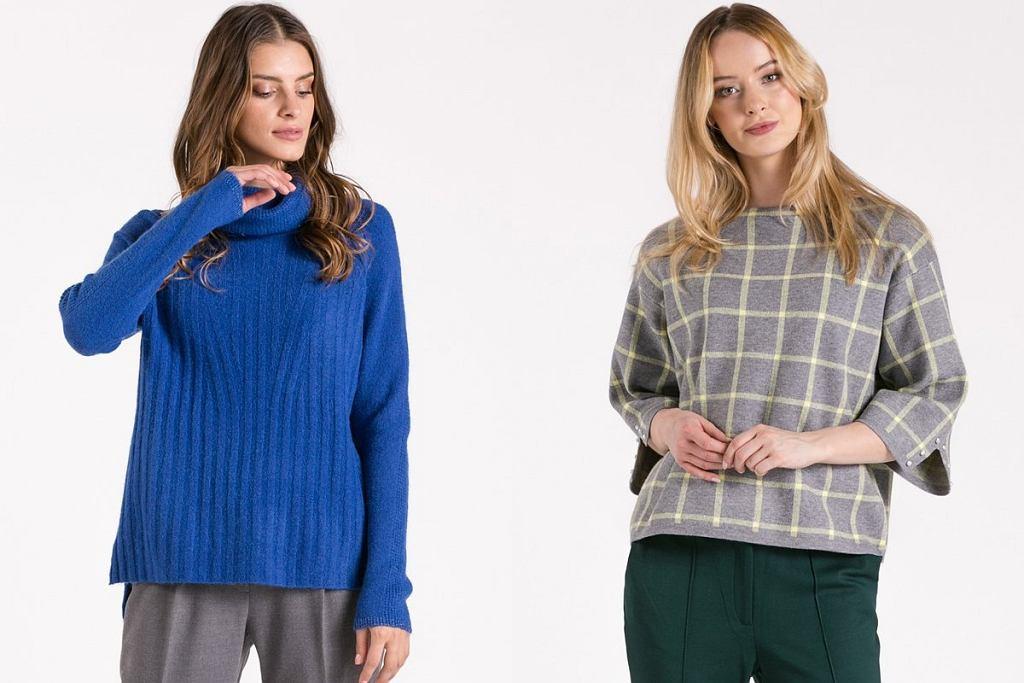 wyprzedaż jesiennych swetrów