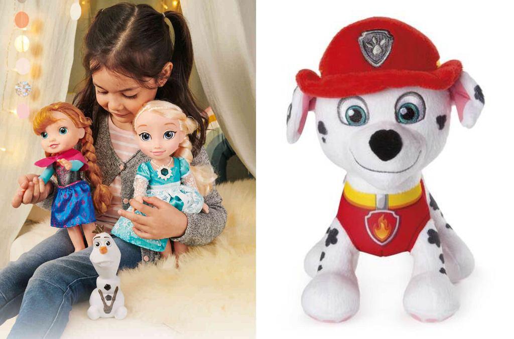 Lidl. Promocja na zdalnie zabawki z 'Psiego patrolu' i 'Krainy Lodu'