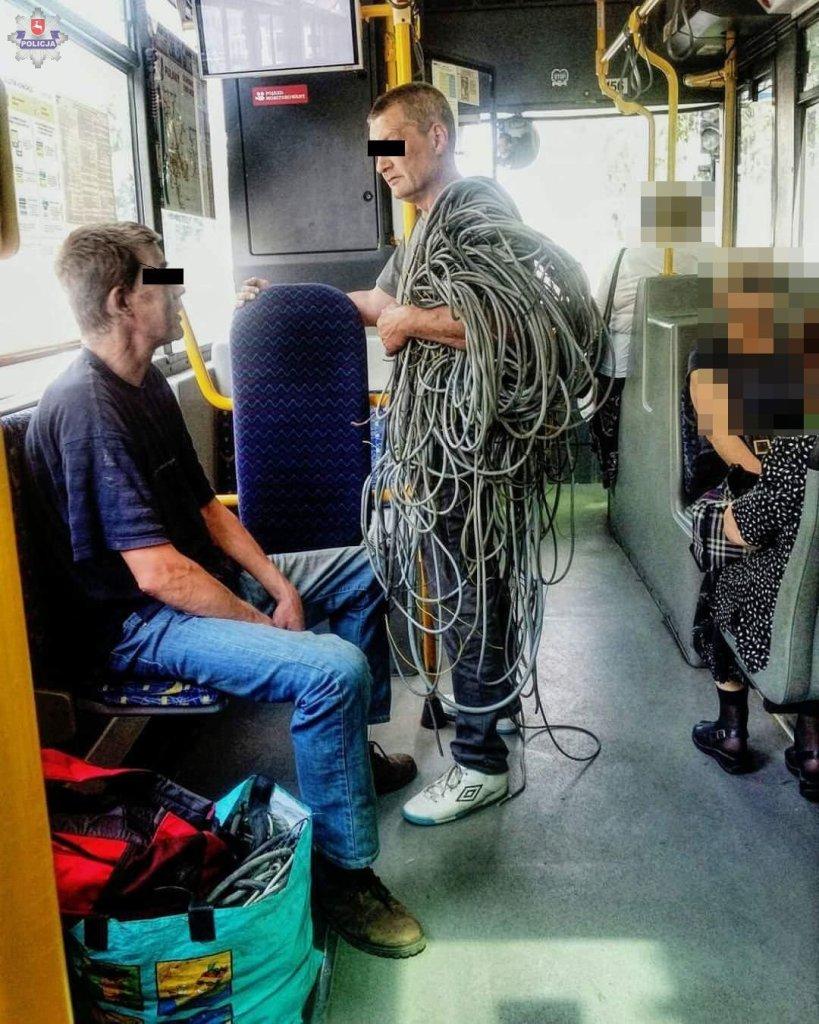 Policja zatrzymała złodziei miedzianych kabli