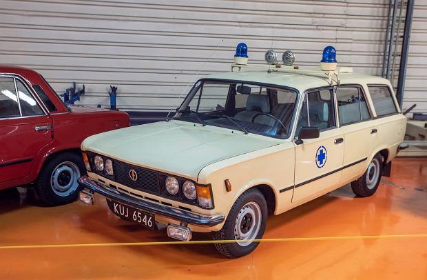 Fiat 125p kombi - karetka