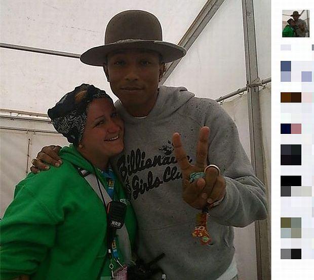 Kasia Pinky Tarka i Pharrell Williams