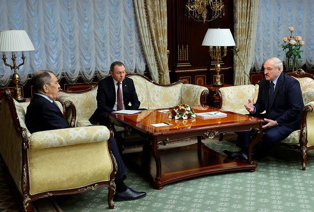 Czwartkowe spotkanie Siergieja Ławrowa z Aleksandrem Łukaszenką w Mińsku