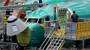 Boeing 737 Max w produkcji.