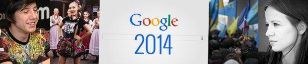 Tego szukaliśmy w Google w 2014
