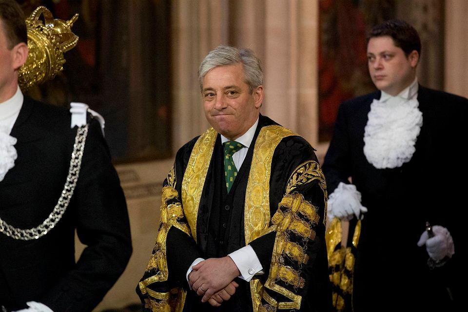Spiker Izby Gmin sir John Bercow - kluczowa postać podczas głosowań w Westminsterze