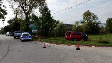 Gruzin przewoził migrantów. Nie zatrzymał się do kontroli i potrącił policjanta