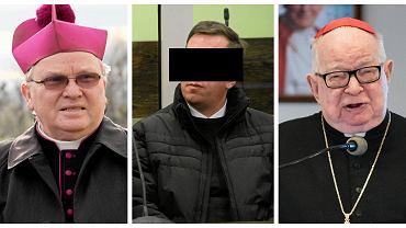 Nie Lękajcie Się oskarża dwóch wrocławskich biskupów o to, że wiedzieli o pedofilskich czynach ks. Pawła Kani (sąd nie zgodził się na publikowanie jego wizerunku). Na zdjęciach także kard. Henryk Gulbinowicz i ks. abp Marian Gołębiewski