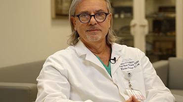 Prof. Piotr Chłosta, prezes Polskiego Towarzystwa Urologicznego, kierownik Katedry i Kliniki Urologii Uniwersytetu Jagiellońskiego w Krakowie,