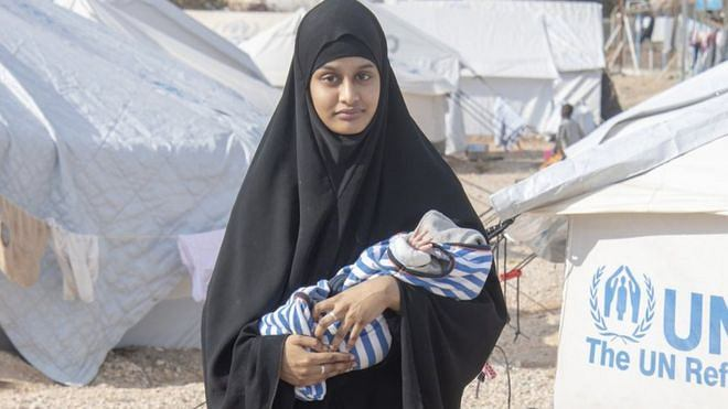 Shamima Begum w obozie ze swoim dzieckiem