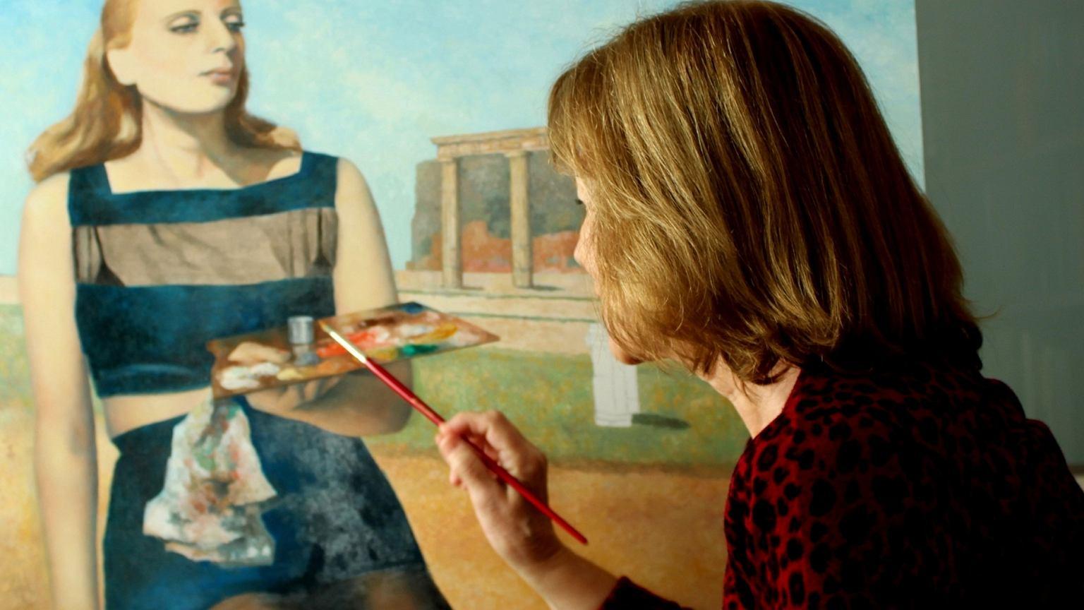 Tamarę Łempicką maluje Consuelo Hernández