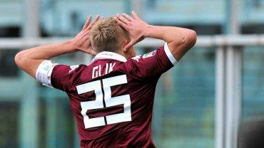 Kamil Glik cieszy się z gola