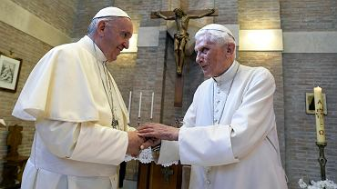 Benedykt XVI i Franciszek