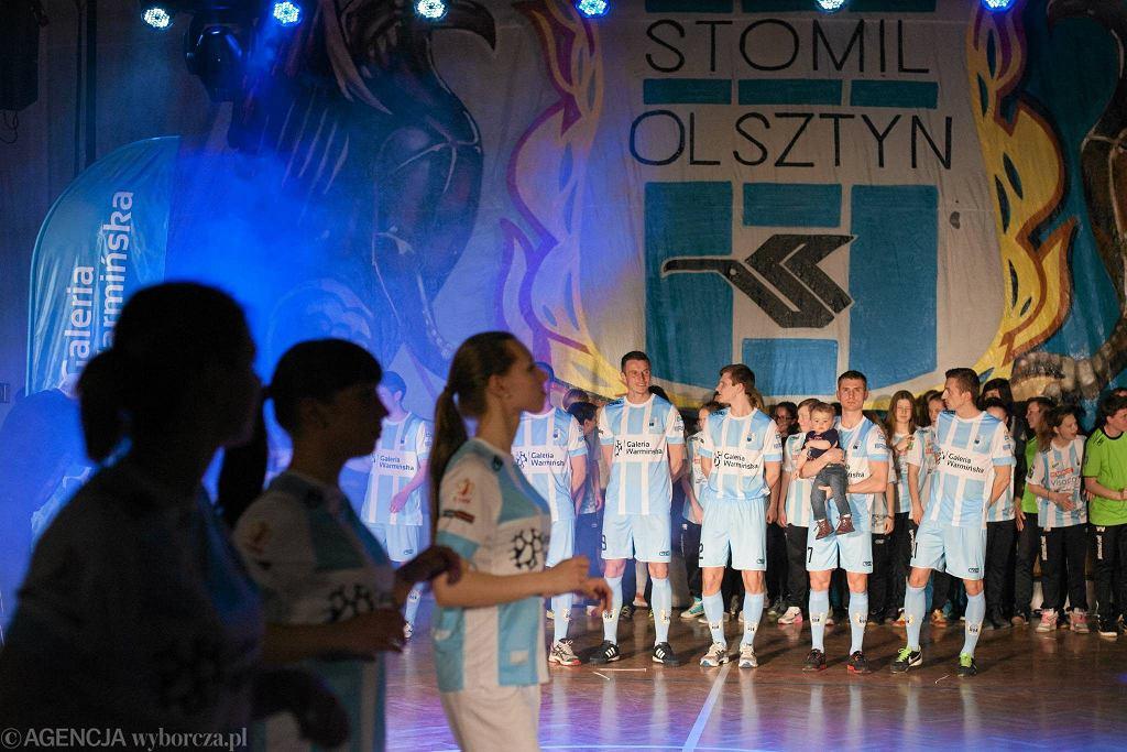 Prezentacja zawodników Stomilu Olsztyn w 2014 roku
