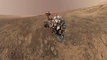 Na Marsie NASA odkryło m.in. metan