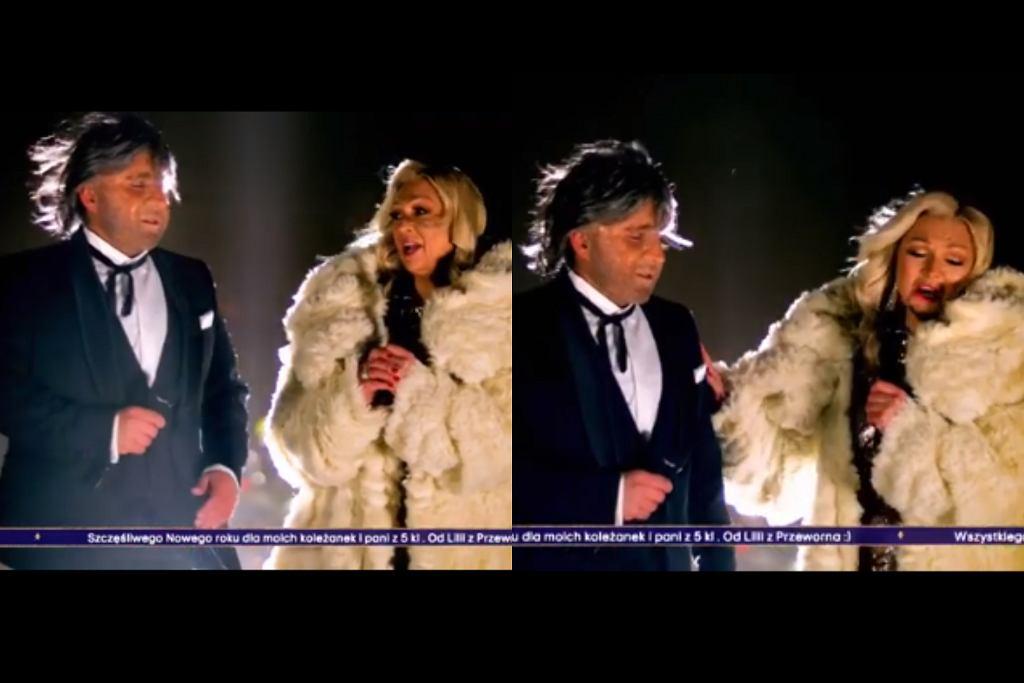 Czadoman jako Andrea Bocelli