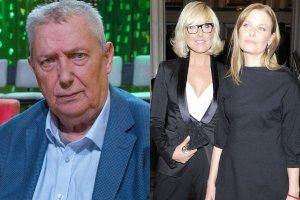 Wojciech Młynarski i jego córki, Agata i Paulina
