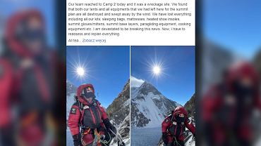 Zdjęcie z K2