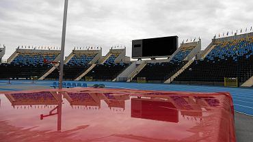 Stadion Zawisza - przygotowania do mistrzostw świata i trening