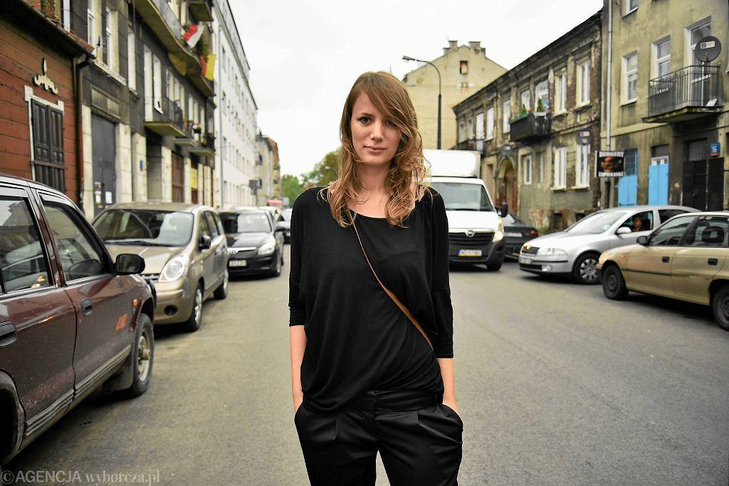 Małgorzata Dembowska, architektka z pracowni WXCA, która wygrała konkurs na projekt zagospodarowania na ul. Środkowej