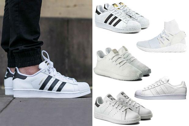 f16a0d48 Letnia klasyka, czyli białe sneakersy Nike, Adidas i Reebok. Teraz ...