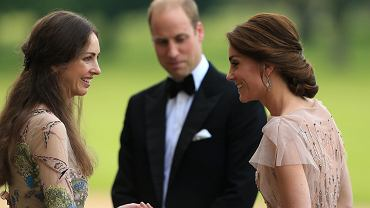 Rose Hunbury, książę William i księżna Kate